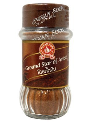 Nguan Soon Ground Star of Anise 45g (1.59 Oz) Product From Thailand