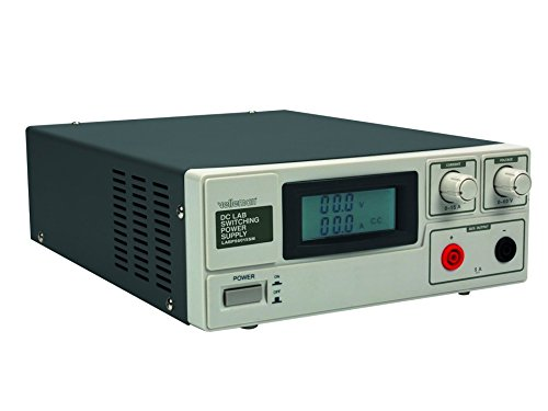 Velleman LABPS6015SM 15 A DC Lab Switching Power Supply Max with LCD Display, 240 V, Multi-Colour