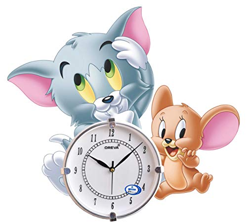 CRAFTS WORLD Wood Wall Clock (Multi)