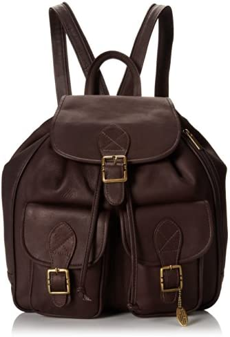 David King Co. Double Front Pocket Backpack