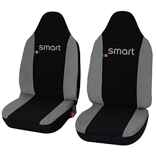 Lupex Shop smart.1S N. Gc stoelhoezen, zwart/lichtgrijs