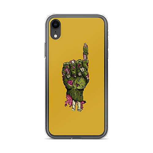 iPhone XR Case Anti-Scratch Television Show Transparent Cases Cover I'm A Zombie Tv Shows Series Crystal Clear -