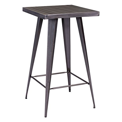 Zuo Olympia Bar Table, Gunmetal