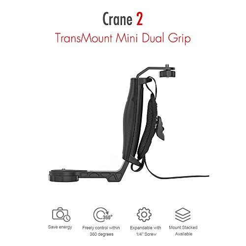Zhiyun Crane 2 Mini Dual Grip with Three 1/4