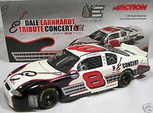 Dale Earnhardt Jr #8 Dale Earnhardt Sr Tribute Concert Legend E 2003 Monte Carlo 1/24 Scale Action Racing Collectables Hood Trunk Opens ()