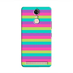 Cover It Up - Pink,Green&Cyan Vibe K5 NoteHard Case