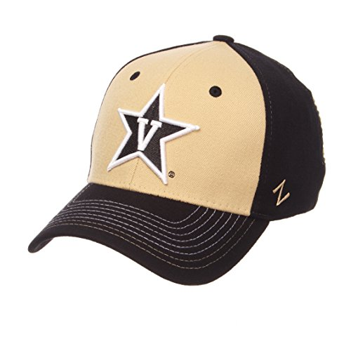 newest 64567 233be NCAA Vanderbilt Commodores Men s Stitch Hat, Medium Large, Team Color