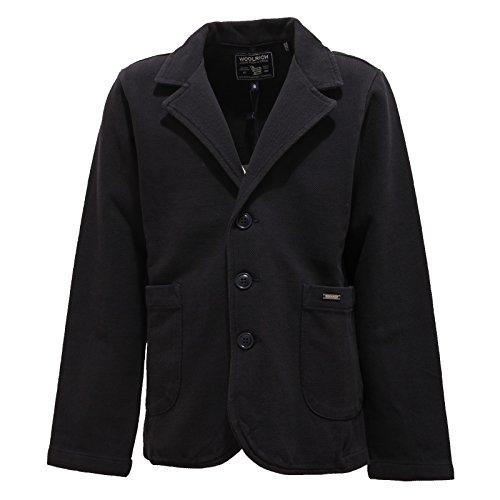 Kid Boy Blu Cotton Bimbo Jacket Cotone Blue 8862t Giacca Woolrich Blazer gvAzPwxq8p