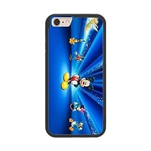 Fantasia M6L6EE6O Caso funda iPhone 6 Plus 5.5 Inch Caso funda del teléfono celular Negro