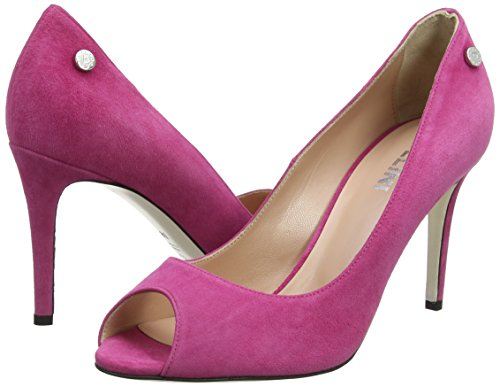 Para Zapatos W sandal ciclamino De Abierta Pollini Rosa Punta Tacón Mujer 606 Con EB8qqwgx