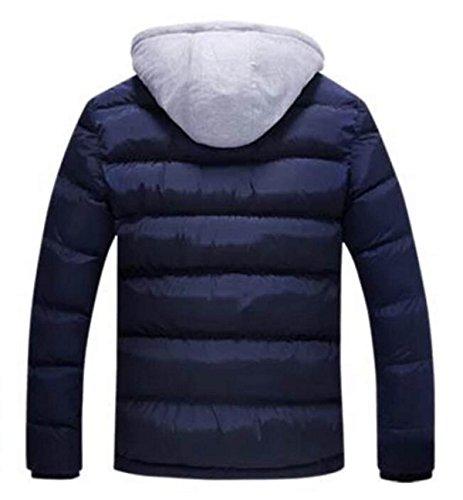 Cotone Uomini Pfsyr Calda Dimensioni Blu Giù Grandi Spessore Giacca Inverno YWqWSOPR