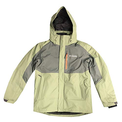 Columbia Men Rural Mountain Interchange Omni-Heat 2 in 1 Jacket (L, Green) by Columbia