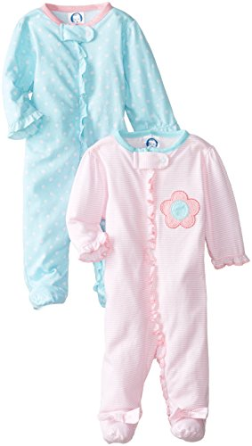 gerber-baby-girls-newborn-2-pack-sleep-n-play-zip-front-flowers-0-3-months