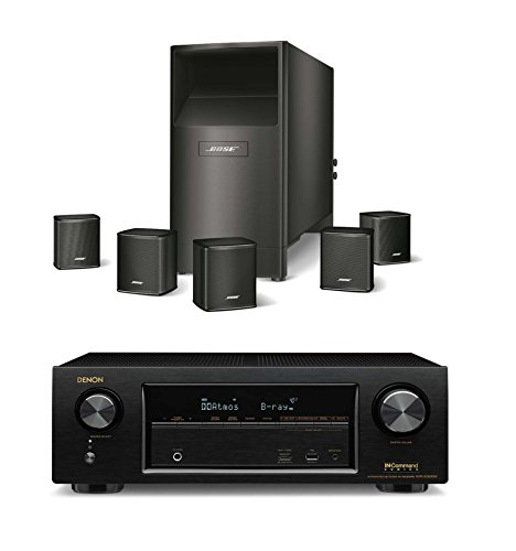 Bose Acoustimass 6 Series V Wired Home Theater Speaker Sy...
