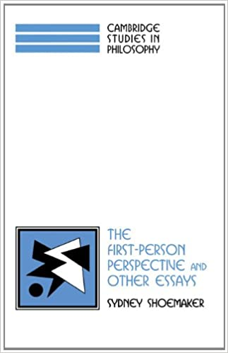 the first person perspective and other essays cambridge studies the first person perspective and other essays cambridge studies in philosophy