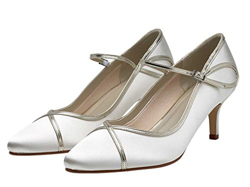 Satin Court Ivory Overlay Shoes Gold Ivory Club Dorothy Rainbow Satin Yq6xzCUnv