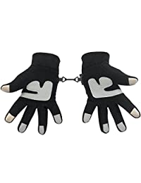 Metog Winter men and women outdoor sports warm fleece gloves touch gloves