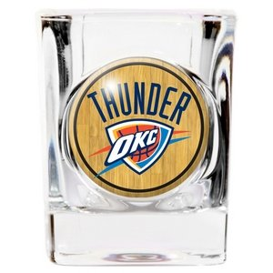 Oklahoma City Thunder Square Shot Glass