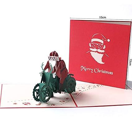 Tarjeta de regalo 3D Tarjeta emergente, Saludo, Hecho a mano ...