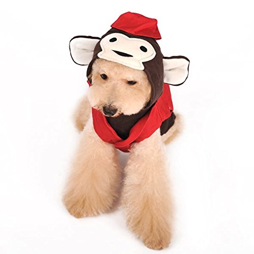 Dogo Circus Monkey Dog Costume (Extra Large) ()
