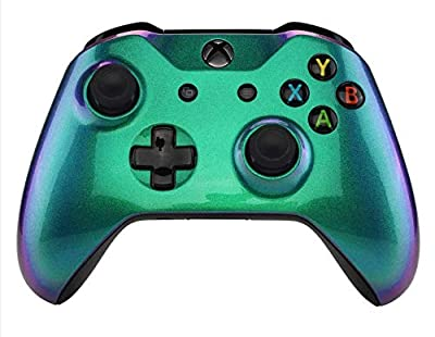Enigma Chameleon FX3 Rapid Fire Custom Modded Controller Compatible with Xbox One S/X 40 Mods for All Major Shooter Games (with 3.5 Jack)