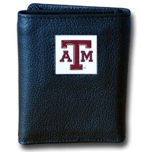 NCAA Texas A&M Aggies Leather Tri-Fold -