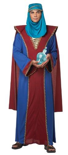Wise Men Christmas Costume (California Costumes Men's Balthasar Of Arabia Adult, Blue/Red, Medium)