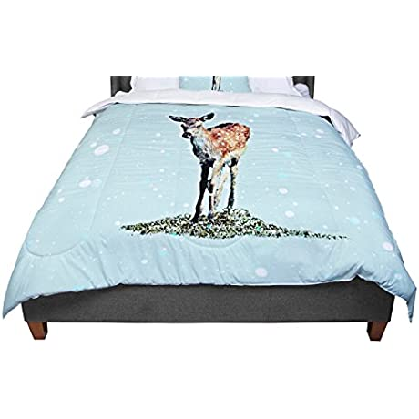 KESS InHouse Monika Strigel Fawn King Cal King Comforter 104 X 88