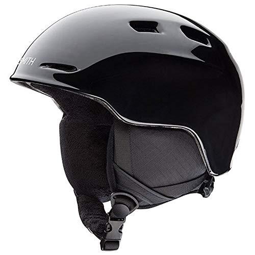 (Smith Optics Unisex Youth Holt Jr Snow Sports Helmet - Black Youth Medium (53-58CM))