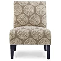 Monaco Gabrielle Slipper Chair Color: Stone