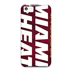 Best Cell-phone Hard Covers For Iphone 5c (ZfW16656ELmP) Allow Personal Design Attractive Miami Heat Series