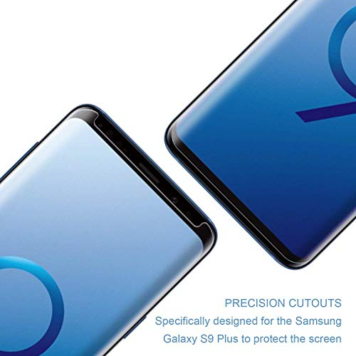 [2pack] for Samsung Galaxy S9 Tempered Glass Screen Protector, Eastoan S9 Screen Protectors [9H Hardness] [Super Clear] [ No Foam ][NO Scratch] Compatible Samsung Galaxy S9 Clear by Eastoan (Image #3)