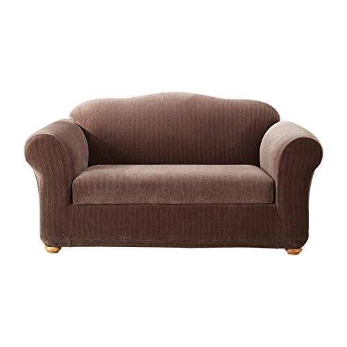Sure Fit Stretch Pinstripe Sofa Slipcover