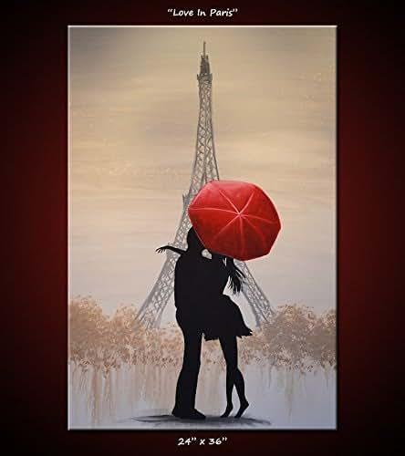 Amazon Red Umbrella Painting