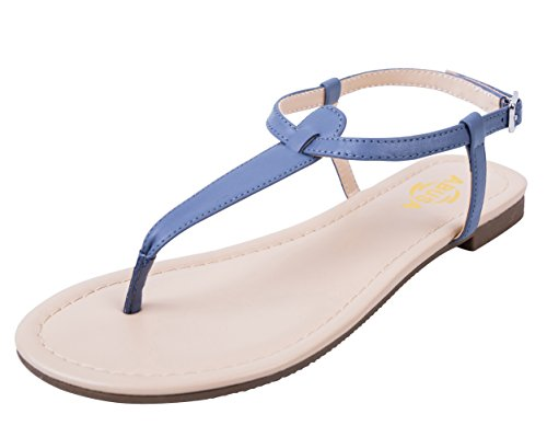 (ABUSA Women's Leather/Suede Foldable Sandals Shoes Gray 9 )