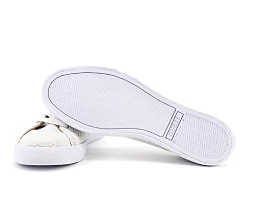 Guess Women's Trainers White White Brown FGl1QxKow