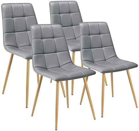 Tuoze Modern Dining Chairs PU Upholstered Seat