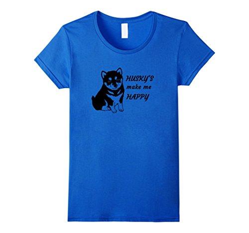 womens-huskys-make-me-happy-t-shirt-small-royal-blue