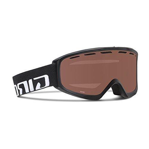 Giro Index Snow Goggles Black Wordmark - Persimmon Blaze - Giro Index Otg Snow Goggles