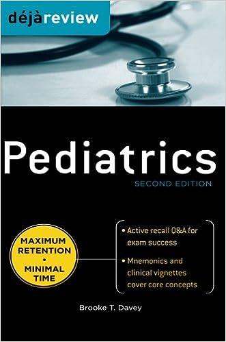 Kết quả hình ảnh cho Deja Review - Pediatrics