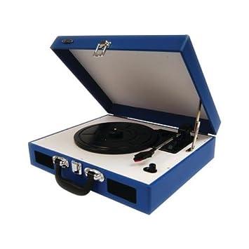 Amazon.com: The Amazing Jensen port trntbl W/SPKR blu ...