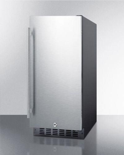 Black Frost Free Freezer (Summit FF1532BIF 15
