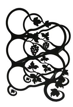 13 Inch Grapevine Wine Rack
