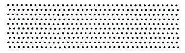 Large Dot Border Wood Mounted Rubber Stamp (534I) ()