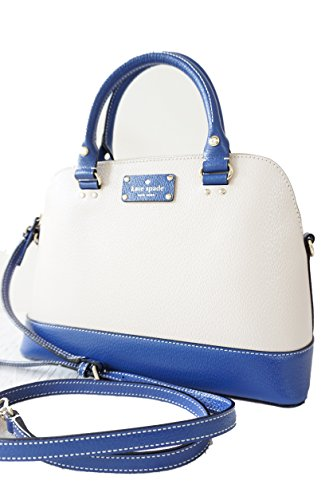 Kate Spade Wellesley Small Rachelle Berkeley Lane Satchel Bag (medium Blue)