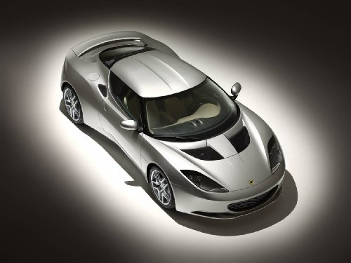 lotus-evora-2009-car-art-poster-print-on-10-mil-archival-satin-paper-silver-front-top-side-studio-vi