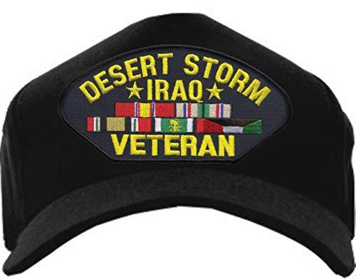 Eagle Crest Desert Storm Iraq Veteran Ribbon Hat