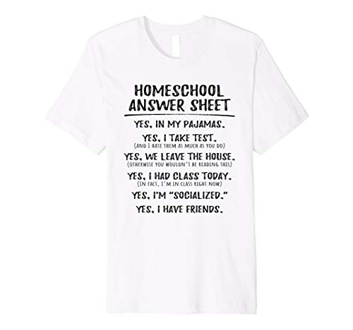 Homeschool Student Kids Socialized Pajamas Class T-Shirt