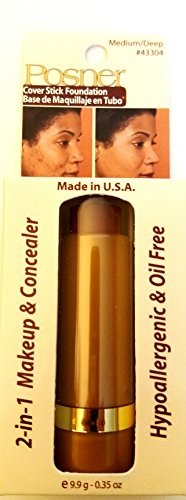 Posner Creme (Posner Cover Stick Foundation (NEW!!!) Color: Medium/Deep)