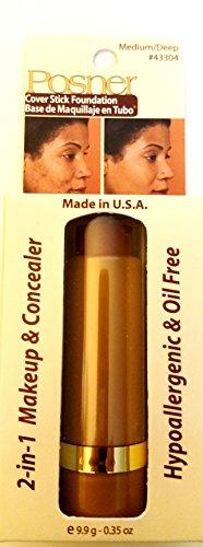 (Posner Cover Stick Foundation (NEW!!!) Color: Medium/Deep)